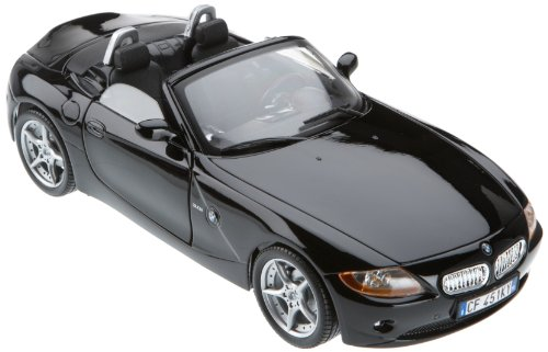 Bburago-12001BK-Modellauto-118-Bmw-Z4-schwarz-Fahrzeuge