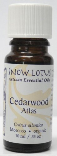 Snow Lotus Atlas Cedarwood Essential Oil Organic 10ml