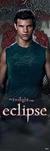1art1 49686 Poster de Porte Twilight Eclipse Hésitation Jacob 158 X 53 cm