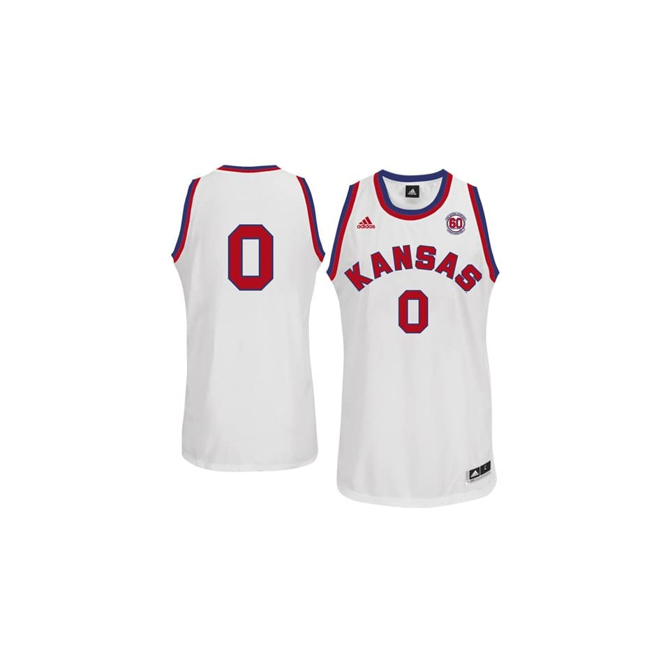 b35daed47 Kansas Jayhawks #0 Replica Basketball Jersey Red on PopScreen