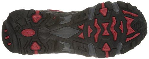 Fila Men's Ascente 15 Trail Running Shoe, Fila Red/Black/Castle Rock, 9 M US