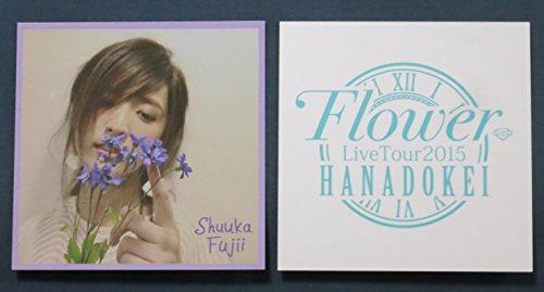 E-girls 藤井萩花A Flower LIVE TOUR 2015 花時計 会場限定 ビーズブレスレット特典フォトカード