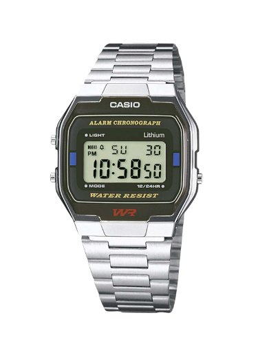 Casio Collection Herren-Armbanduhr Digital Quarz A163WA-1QES