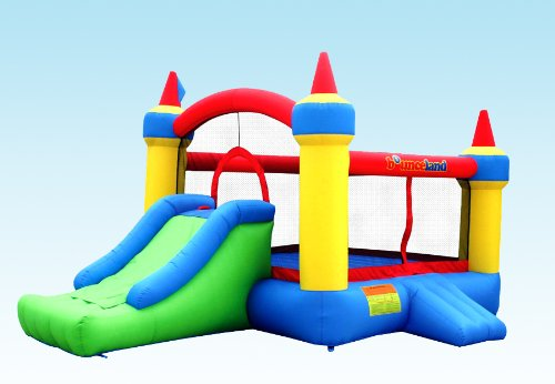 Bounceland Mega Castle Inflatable Bounce House Bouncer