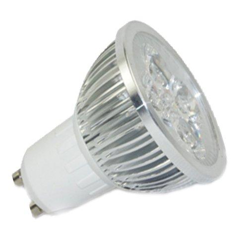 Gu10 4W High Spotlight Bulbs 4X1W Led Lamps Warm White 220V