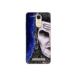 redmi note3 nkt11_L (44) Mobile Case by Mott2 - Lord Shiva - Half Face