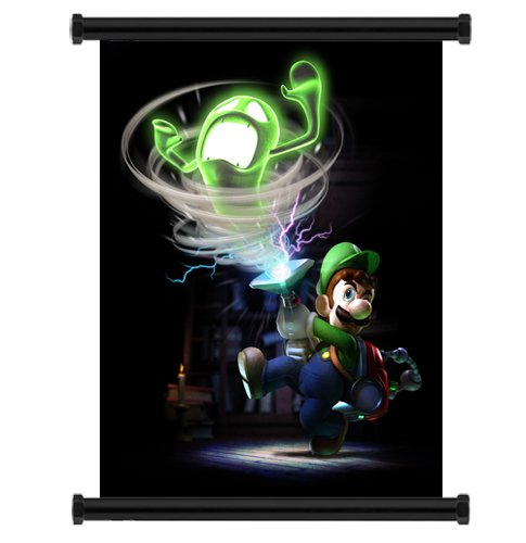 Luigis-Mansion-Dark-Moon-Game-Fabric-Wall-Scroll-Poster-16-x-22-Inches