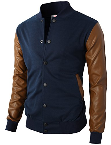 h2h-mens-slim-fit-varsity-baseball-bomber-jacket-of-various-styleskmoja0132-navyus-m-asia-l