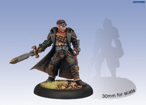 Privateer Press - Warmachine - Mercenary: Rutger Shaw Model Kit
