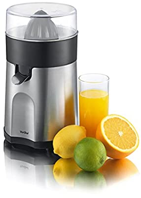 VonShef Premium Electric Citrus Fruit Juicer / Extractor 85W - Free 2 Year Warranty