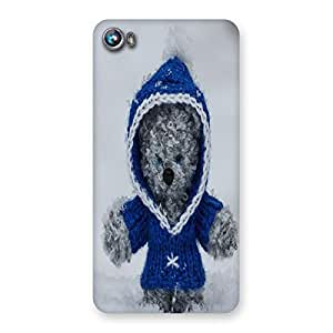 Unicovers Cute Bear Back Case Cover for Micromax Canvas Fire 4 A107