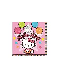Hello Kitty Party Beverage Napkins (16-pack)
