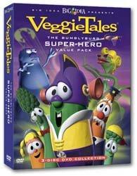 amazoncom veggie tales bumblyburg superhero movies amp tv