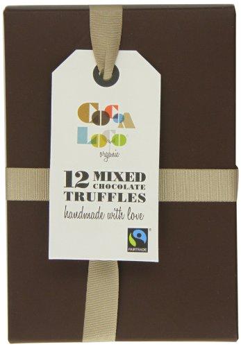 Cocoa Loco Organic Fairtrade 12 Mixed Chocolate Truffles