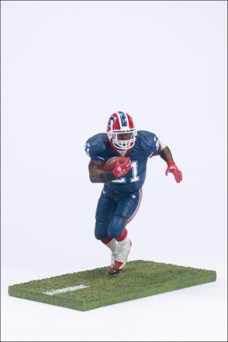 Buy Low Price McFarlane Sports Picks NFL Series 11 Willis McGahee Blue Jersey Figure (B000WBOL6G)