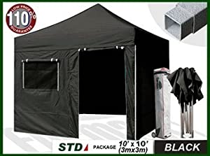 New STD 10x10 Feet Ez Pop up Instant Canopy Shade shelter Commercial Tent Outdoor... by Eurmax