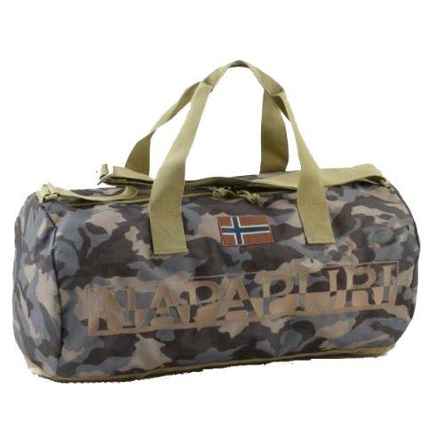 Napapijri North Cape Big Duffle borsone di viaggio 71 cm camouflage