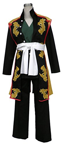 [Going Coser Hakuouki Okita Souji 1st Version Cosplay Costume (XXX-Large, Multi)] (Okita Souji Cosplay Costume)