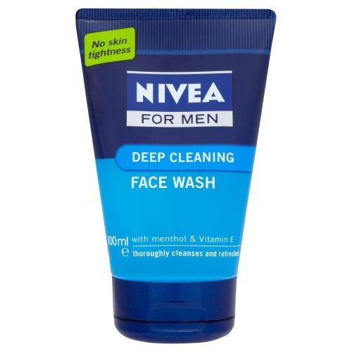Nivea For Men Deep Cleansing Face Wash (100ml)