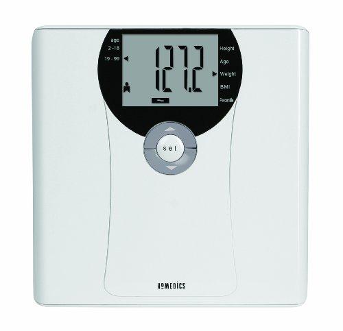 HoMedics SC-465 Digital BMI Family Fit Scale, White (Homedics Scale Body compare prices)