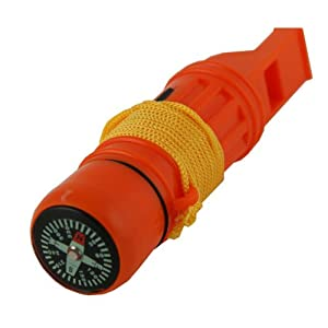 5 in 1 Survival Whistle, Emergency Zone® Brand