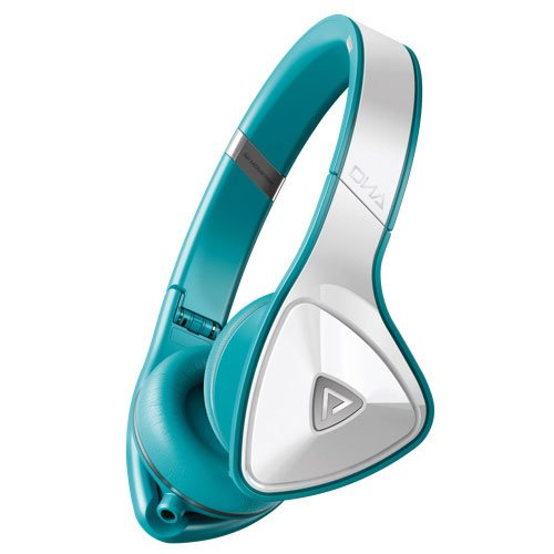 Monster Dna On-Ear Headphones (White Teal)