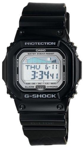 CASIO G-SHOCK(カシオ Gショック) 海外モデル 腕時計 G-LIDE(Gライド)シリーズ GLX-5600-1DR ブラック×ピンストライプ 逆輸入品