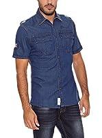 PAUL STRAGAS Camisa Vaquera (Azul)