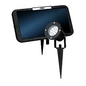 Concept SL-50 12 LED Super-Bright Solar Garden Light