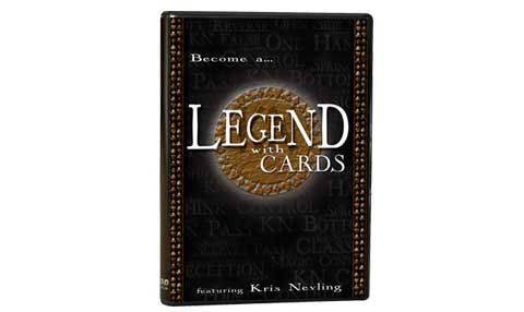 Magic Makers, Inc. Presents Legend with Cards Dvd, Featuring Kris Nevling - 1