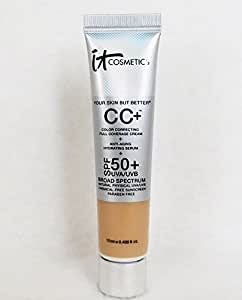 It Cosmetics It Cosmetics Your Skin But BetterTM CC Cream with SPF 50+ Travel Size Light 0.406oz