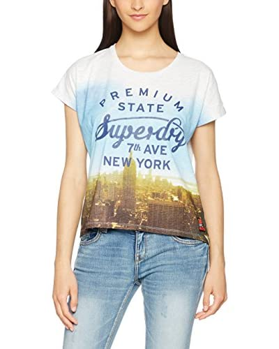 Superdry T-Shirt Premium Ny Grown On Sleeve