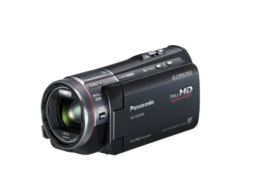 Panasonic X900MK 3MOS 3D Full HD SD Camcorder with 32GB Internal Memory (Black) HC-X900MK