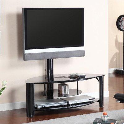 Pearington Fendy Metal Tv Console, Black Finish front-127030