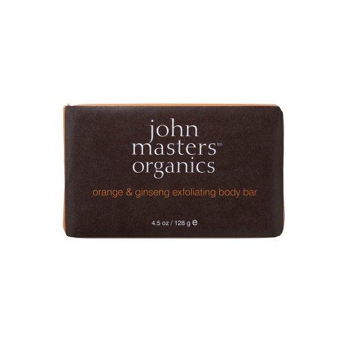 ジョンマスターオーガニック 128g オレンジ&ジンセン エクスフォリエイティングソープ