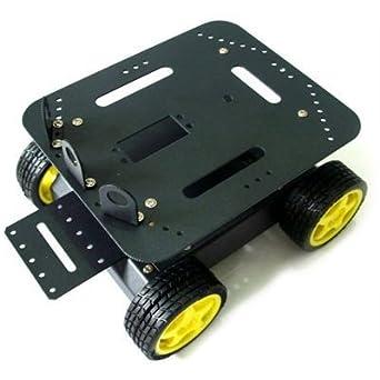 CanaKit 4 Wheel Drive (4WD) Robot Platform for Arduino