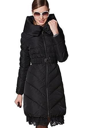 OSA Women Winter Fashion Eiderdown Tunic Thickness Long