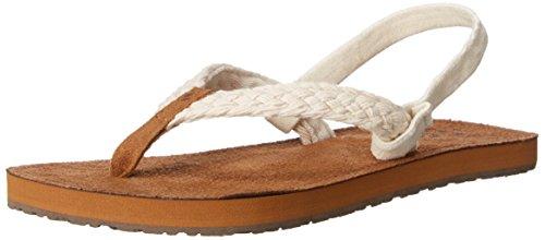 Reef Little Gypsy Macrame Kids Sandal (Toddler/Little Kid/Big Kid), Cream,4-5 US Big Kid Reef Woven Sandals