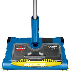 BISSELL Supreme Sweep Turbo Rechargeable Compact Sweeper