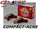 アクレ/ACRE ブレーキシュー リア コンパクトアクレ S0029 ダイハツ ハイゼット S200V(エンジンMD35)