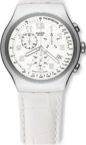 スウォッチ (swatch) 腕時計 IRONY THE CHRONO YOUR TURN WHITE YOS439 メンズ [正規輸入品]