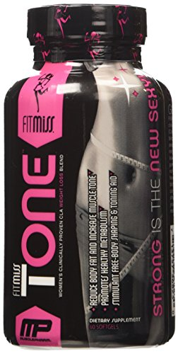 Fitmiss Tone Stimulant Free Mid-Section Fat Metabolizer,