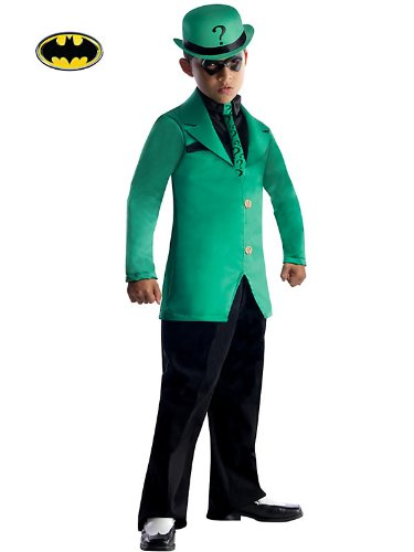 Rubies DC Super Villains Child Riddler Costume