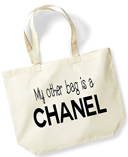 my-other-bag-is-a-chanel-funny-gift-natural-bag-cotton-shopping-bag-c