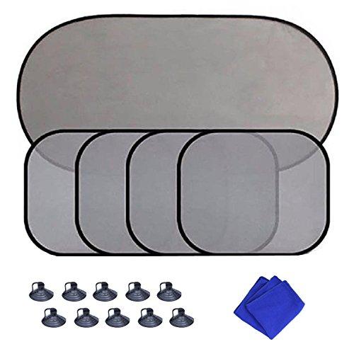 Goodlucky365-Cinque-Pezzi-di-Coperture-Reticolate-della-Finestra-della-Macchina-con-Un-asciugamano-Block-97-raggi-UV