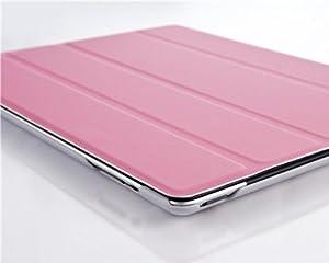 VEO | ROSA Ultra Slim Smart Cover Case Hülle für das iPad 4 (mit Retina Display), iPad 3 und iPad 2 voll kompatibel mit der Sleep-Funktion, Displayschutzfolie inkl.