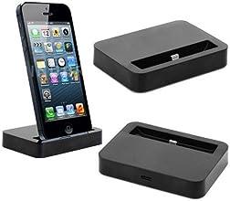 Station de Charge Recharge Dock Station avec câble pour Iphone 5 - Noir
