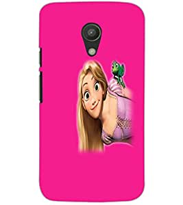 MOTOROLA MOTO G2 BEAUTIFUL GIRL Back Cover by PRINTSWAG