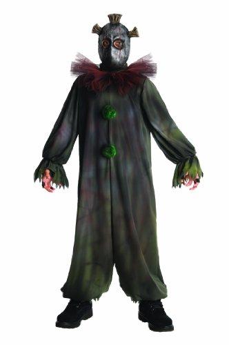 Horrorland Prankster Costume And Mask Costume