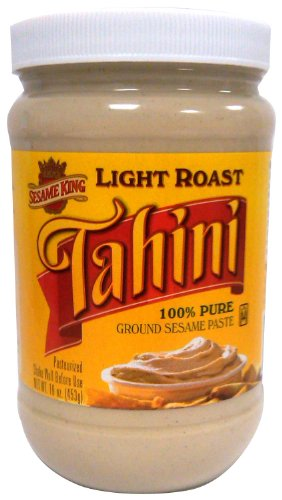 Sesame King Tahini Light Roast, 16-Ounce (Pack of 4) by Sesame King